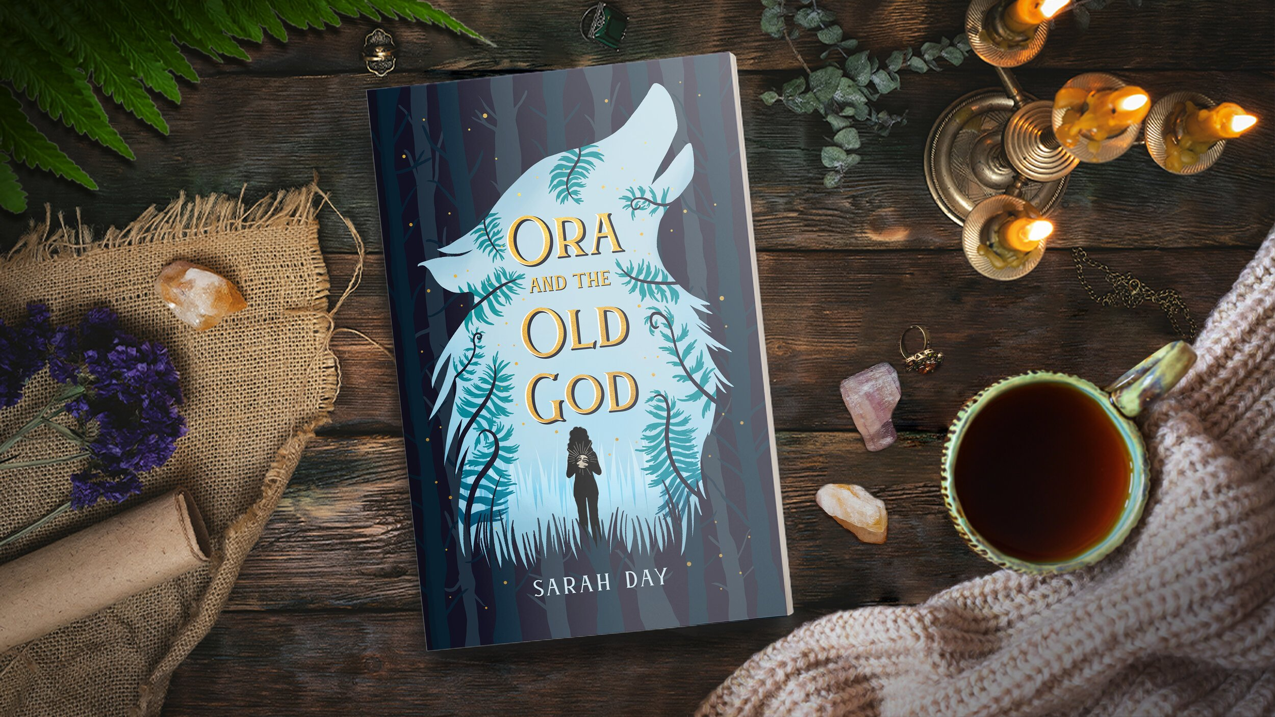 Ora and the Old God Cover Reveal